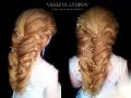 визажист Челябинск-прическа-греческая-коса
