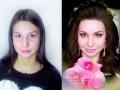 Макияж визаж. Фото макияжа До-После. Визажист Челябинск с выездом