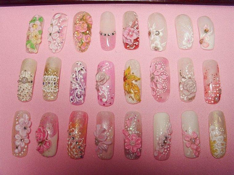 Как использовать дизайн на ногтях