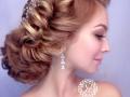 визажист-парикмахер Челябинск, свадебный стилист с выездом на дом, прическа свадебная, прическа с косами