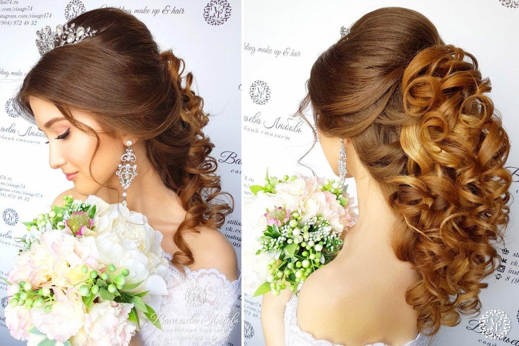 греческая-коса-по-спине-макияж-невесты-Челябинск (2)