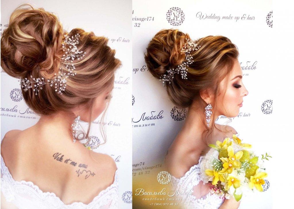 воздушные свадебные прически фото