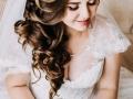 Свадебная причёска и макияж. Мои работы.