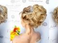 #Высокая_воздушная_прическа_с_плетением. #свадебныйстилистЧелябинск #визажистнасвадьбу (1)