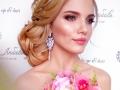 , прическа невесты Челябинск, макияж невесты Челябинск,