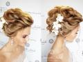 прическа-невесты-Челябинск-пучок-с-плетением