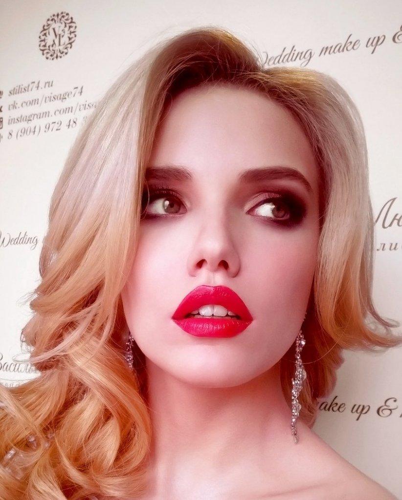 визажист Васильева Любовь Челябинск, макияж, прическа невесты (4)