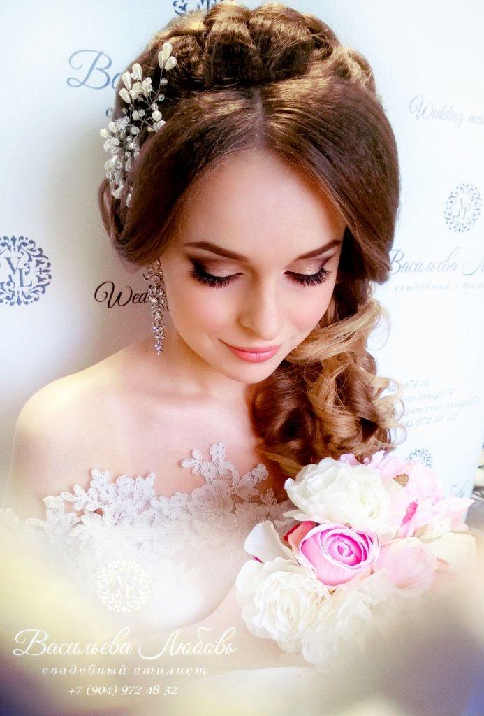визажист_парикмахер_Челябинск_свадебный_макияж и прическа