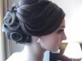 """Парикмахер визажист с выездом на дом в Челябинске, свадебный стилист, свадебные прически и макияж, Прическа """"Пучок"""" на средние и длинные волосы"""