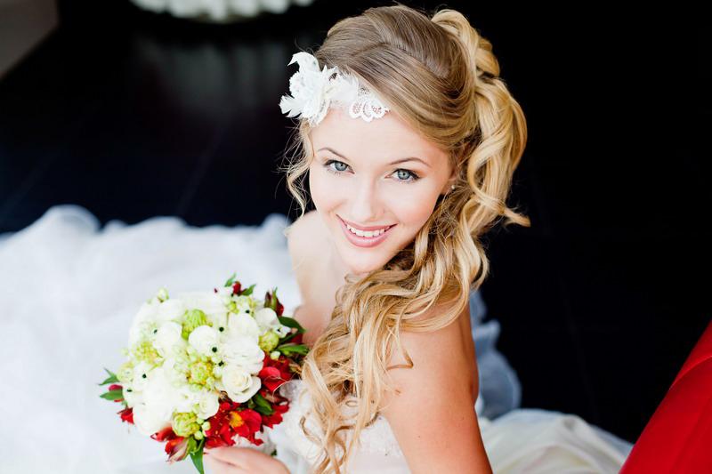 свадебная причёска, макияж, визажист Васильева Любовь